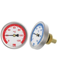 Zeigerthermometer 50 mm (Heizung)
