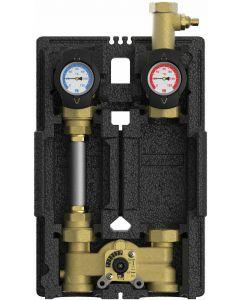 """HeatBloC® K34 DN 25 (1"""") mit Einbaustrecke"""